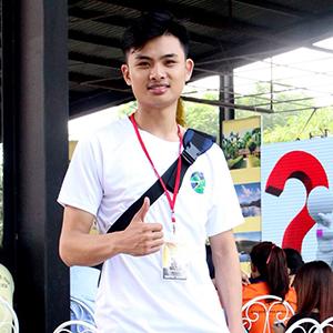 Bạn Tuấn Quang - Hội trưởng hội sinh viên trường ĐH KTQD