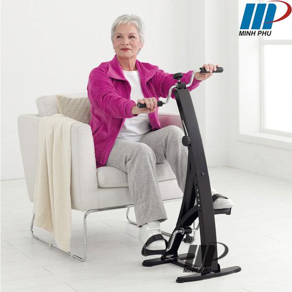 Xe đạp tập thể dục cho người già Dual Bike
