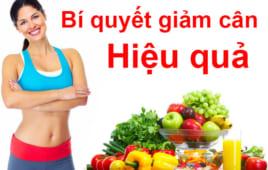 Mách nhỏ bạn bí quyết giảm cân cực hiệu quả