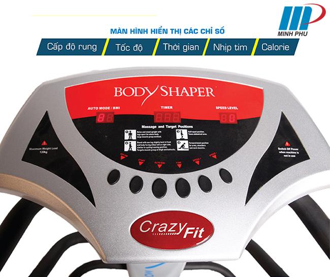 Công việc văn phòng ngồi nhiều khiến vòng hai của bạn trở nên quá khổ và kém duyên? Bạn đã áp dụng nhiều phương pháp tập bụng mà chưa đạt được hiệu quả như mong muốn? Đây là lúc bạn nên mua cho mình một chiếc Máy rung massage MOFIT MSG 6000A