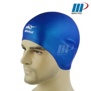 Mũ bơi che tai Whale 3D