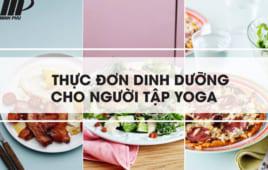 Thực đơn dinh dưỡng cho người tập yoga tốt nhất