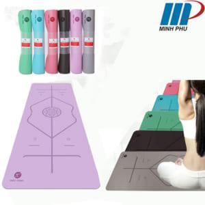 Thảm tập Yoga Pido định tuyến