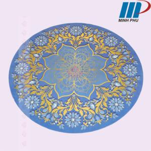 Thảm yogahình tròn Padma 5D