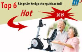 Top 6 Sản phẩm Xe đạp cho người cao tuổi HOT nhất 2019