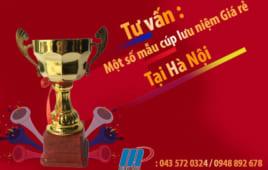 Tư vấn : Một số mẫu cúp lưu niệm Giá rẻ tại Hà Nội