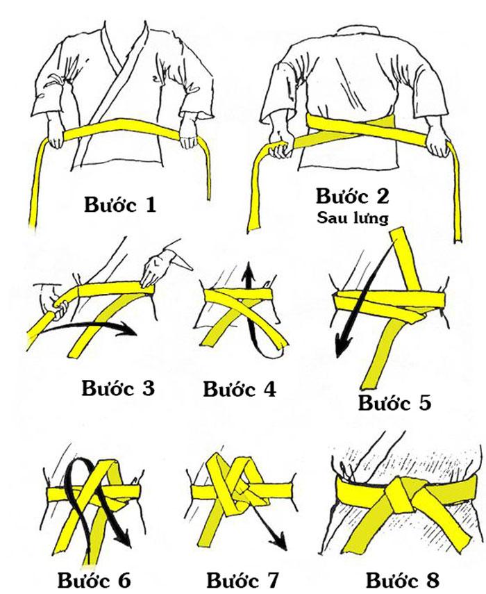 Cách thắt đai