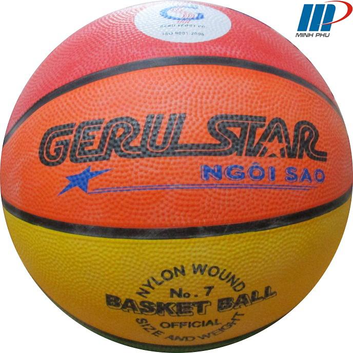 Quả bóng rổ cao su 8 màu số 7