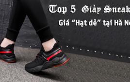 """Top 5 Giày thể thao CỰC ĐẸP giá """"Hạt dẻ"""" Tại Hà Nội"""